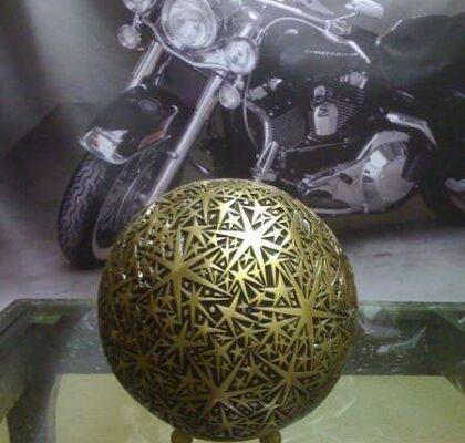 urna bronzo